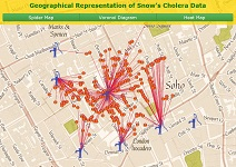snow's cholera data